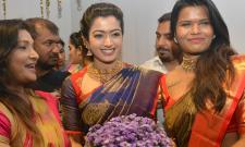 Rashmika Mandanna launched Mugdha Showroom Photo Gallery - Sakshi