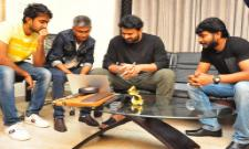 Prabhas Appreciated Paper Boy Team Photo Gallery - Sakshi