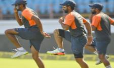 Team India Practice Session PHoto Gallery - Sakshi