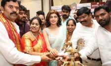 Pranitha Subhash Inaugurates Videms Silks Showroom - Sakshi