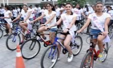 Green Ride With Miss Hyderabad Finalists Photo Gallery - Sakshi