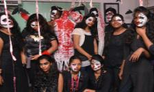 Halloween Show at Vasyaa School Of Design Photo Gallery - Sakshi