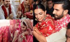Deepika Padukone and Ranveer singh Marriage Photo Gallery - Sakshi