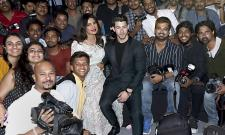 Priyanka Chopra and Nick Jonas wedding reception in Mumbai - Sakshi