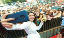 Happi Mobiles Grand Store launched by Actress Lavanya Tripathi - Sakshi