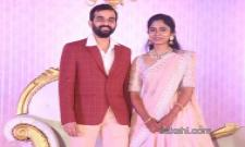 Celebrities At Producer Harshith Reddy Reception - Sakshi