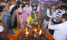 Lohri celebrations at Mehboob college Photo Gallery - Sakshi