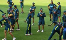 Australia Teams in Uppal Stadium Hyderabad - Sakshi