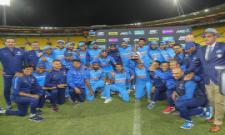 india won fifth odi against newzealand Photo Gallery - Sakshi