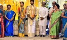 Soundarya Rajinikanth Daughter Wedding Reception Photos - Sakshi