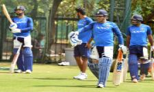 India Australia practice at the nets Photo Gallery - Sakshi