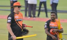 Sunrisers Hyderabad Practice At Uppal Stadium Photo Gallery - Sakshi