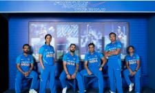 India Cricket Teams New Jersey Released Photo Gallery - Sakshi