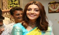 Kajal Aggarwal Maangalya Shopping Mall Launch - Sakshi
