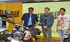 Venkatesh and Naga Chaitanya Launches Ducati Showroom Photo Gallery - Sakshi