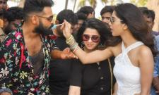 Hero Ram Birthday Celebrations in ismart shankar set Photo Gallery - Sakshi