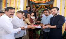 Akkineni Akhil New Movie Launch Photo Gallery - Sakshi
