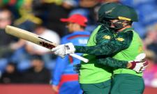 South Africa beat Afghanistan for first win Photo Gallery - Sakshi