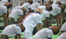 International Yoga Day Photo Gallery - Sakshi