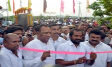 Mini Shilparamam Grandly Opened in Uppal By Minister Talasani and mp Revanth Reddy Photo Gallery - Sakshi