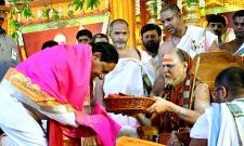 trs government performs guru vandanam hyderabad jalavihar - Sakshi