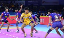 Pro Kabaddi League Dabang Delhi Beat Telugu Titans Photo Gallery - Sakshi