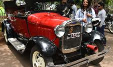 Vintage Car Exhibition at Lumbini Park Photo Gallery - Sakshi