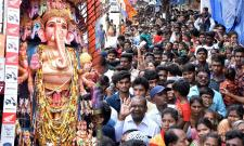 Huge Rush Of Devotees At Khairatabad Ganesh Photo Gallery - Sakshi