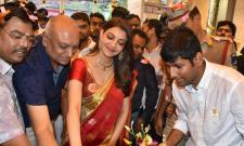 Kajal Aggarwal at Maangalya Shopping Mall launch in kukatpally - Sakshi