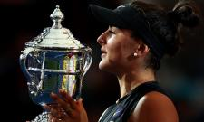 Bianca Andreescu Celebrates in US Open Win Photo Gallery - Sakshi
