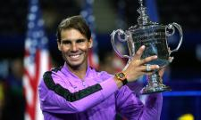 Rafael Nadal Edges Daniil Medvedev Wins US Open 2019 Photo Gallery - Sakshi