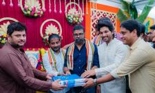 Allu Arjun And Sukumar New Movie Opening Photo Gallery - Sakshi