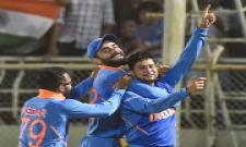 India beat West Indies by 107 runs to level ODI series Photo Gallery - Sakshi