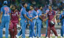 West Indies level series against India with a 8 wicket win Photo Gallery - Sakshi