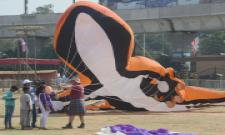 telangana kite festival 2020 Photo Gallery - Sakshi