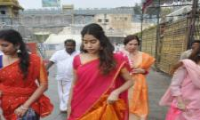 Jhanvi Kapoor Visits Tirupati Photo Gallery - Sakshi