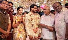 Nikhil Kumaraswamy and Revathi Engagement Ceremony Photo Gallery - Sakshi