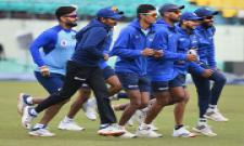 India South Africa one day match net Practice Photo Gallery - Sakshi