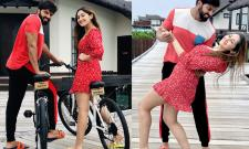 Lovely Couple Arya and Sayyeshaa saigal Photo Gallery - Sakshi