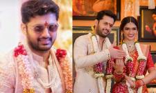 Nithiin and Shalini wedding photo gallery - Sakshi