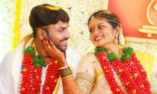 producer vallurupalli ramesh son raghavendra maharshis wedding photo gallery - Sakshi
