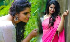 Anchor Shyamala New Saree Photos - Sakshi
