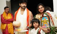 Big Boss winner Kaushal Manda house warming function Photo Gallery - Sakshi