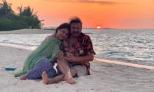 Manchu Family Enjoying Vacation In Maldives Photo Gallery - Sakshi