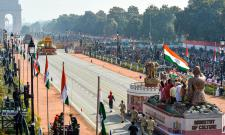 72nd Republic Day Celebrations in New Delhi Photo Gallery - Sakshi