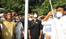 Chiranjeevi, Ram Charan and Naga Babu Republic day celebrations photo gallery - Sakshi
