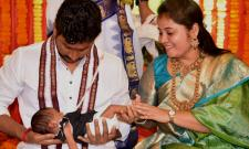 AP Dy CM Pamula Pushpa Sreevani Daughter Naming Ceremony Photo Gallery - Sakshi