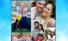 Holi 2021:Celebrities Paint The Town With Colors Photo Gallery - Sakshi