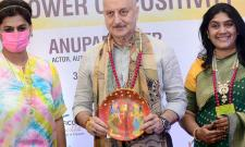 Anupam Kher addressed FLO members at their Annual General Session AT ITC KAKATAYA HOTEL, BEGUMPET Photo Gallery - Sakshi