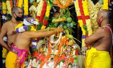 The coronation ceremony of Lord Sri Rama in Bhadrachalam Photo Gallery - Sakshi